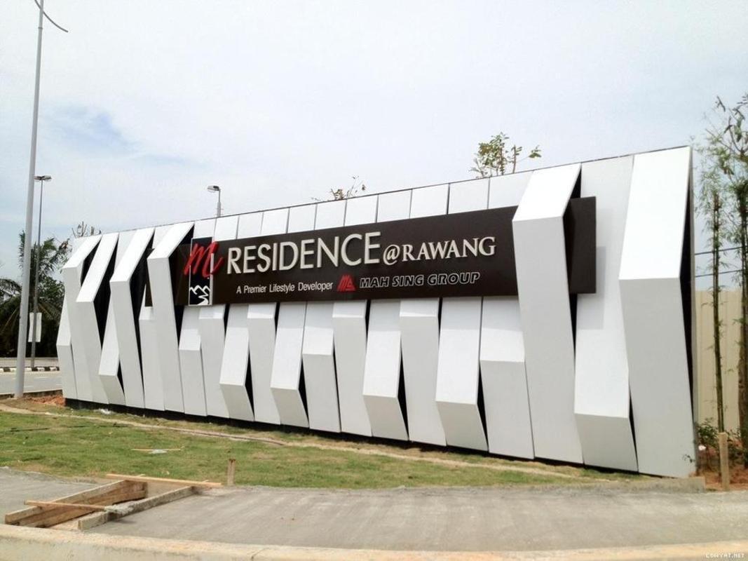 New development in M Residence, Rawang