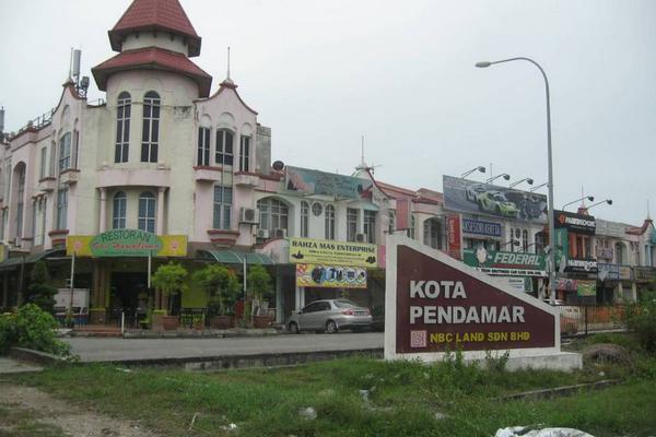 Taman Kota Pendamar in Port Klang