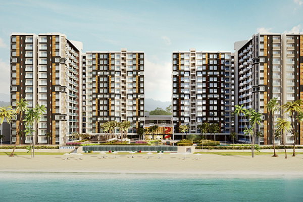 TimurBay Seafront Residences in Kuantan