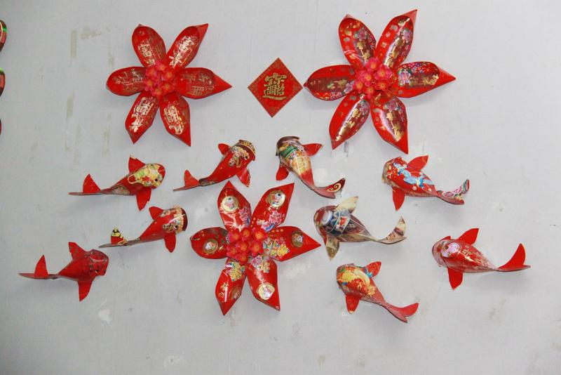 Welcome in the year of the monkey with cny decors propsocial for Ang pow decoration