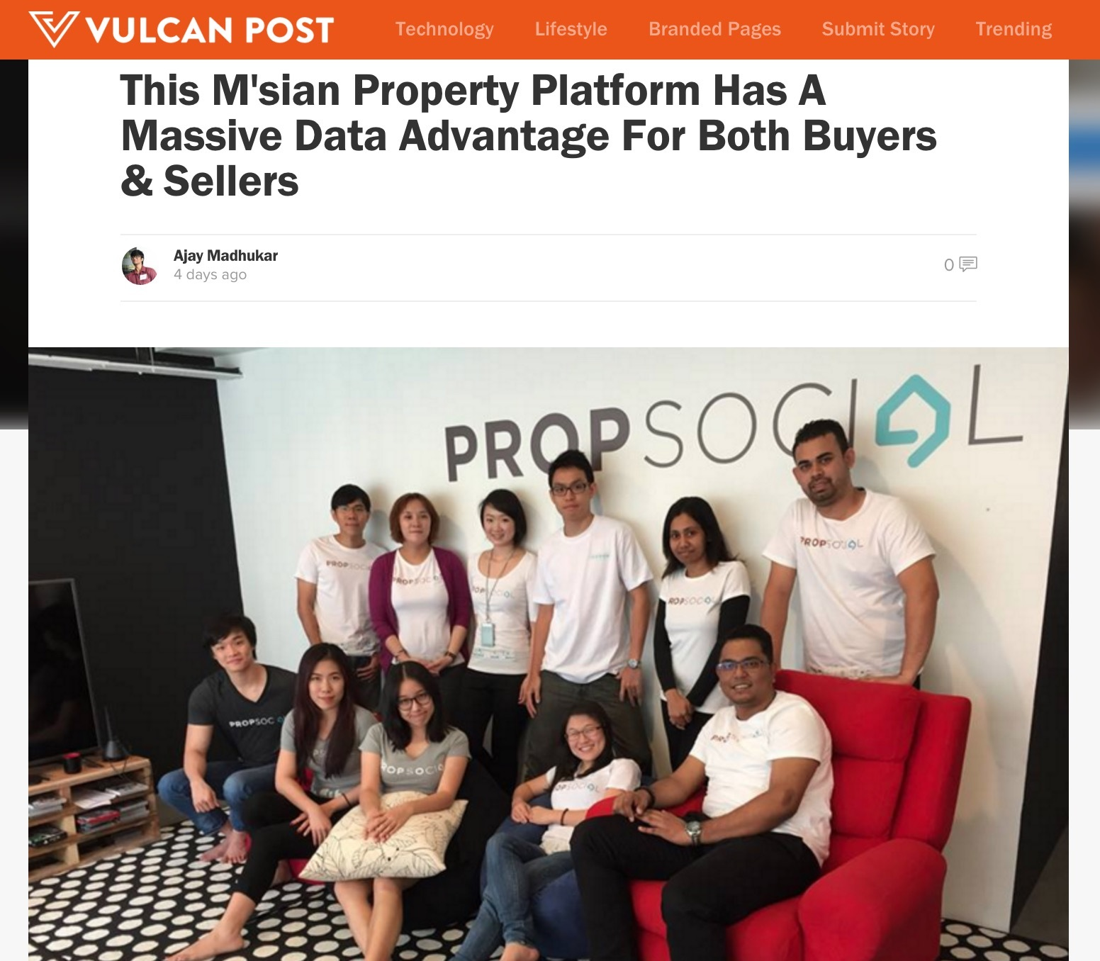 Propsocial property