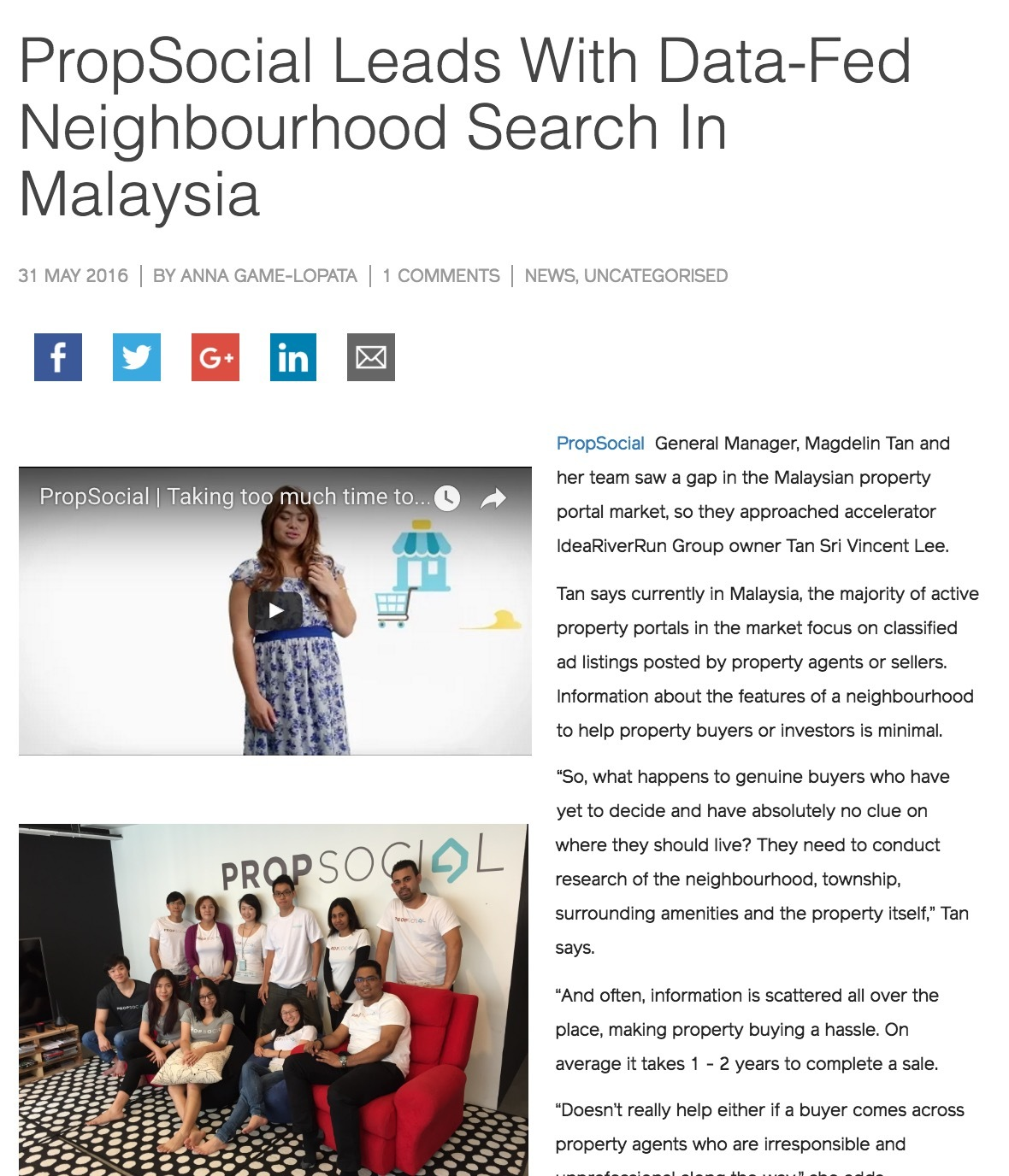 Propsocial leads with data fed neighbourhood search in malaysia