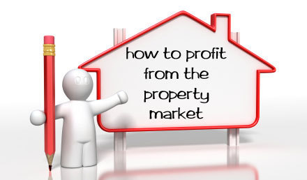 Investment profit from property market large
