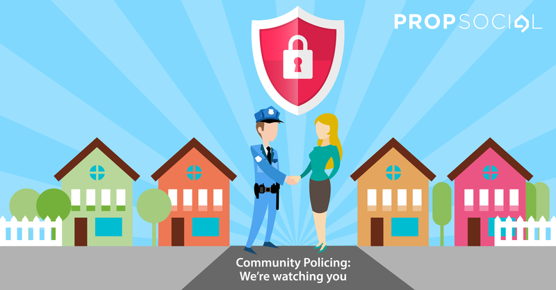 Community policing large