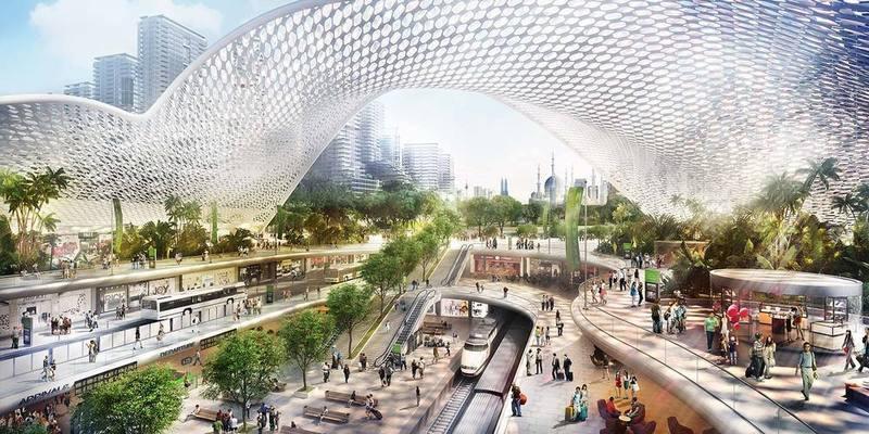 Propsocial property bandar malaysia hsr underground city truncate