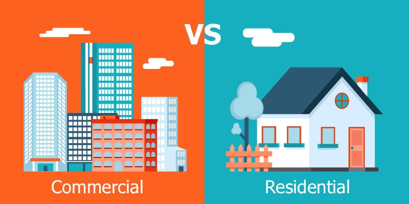 House for sale residental vs commercial 1
