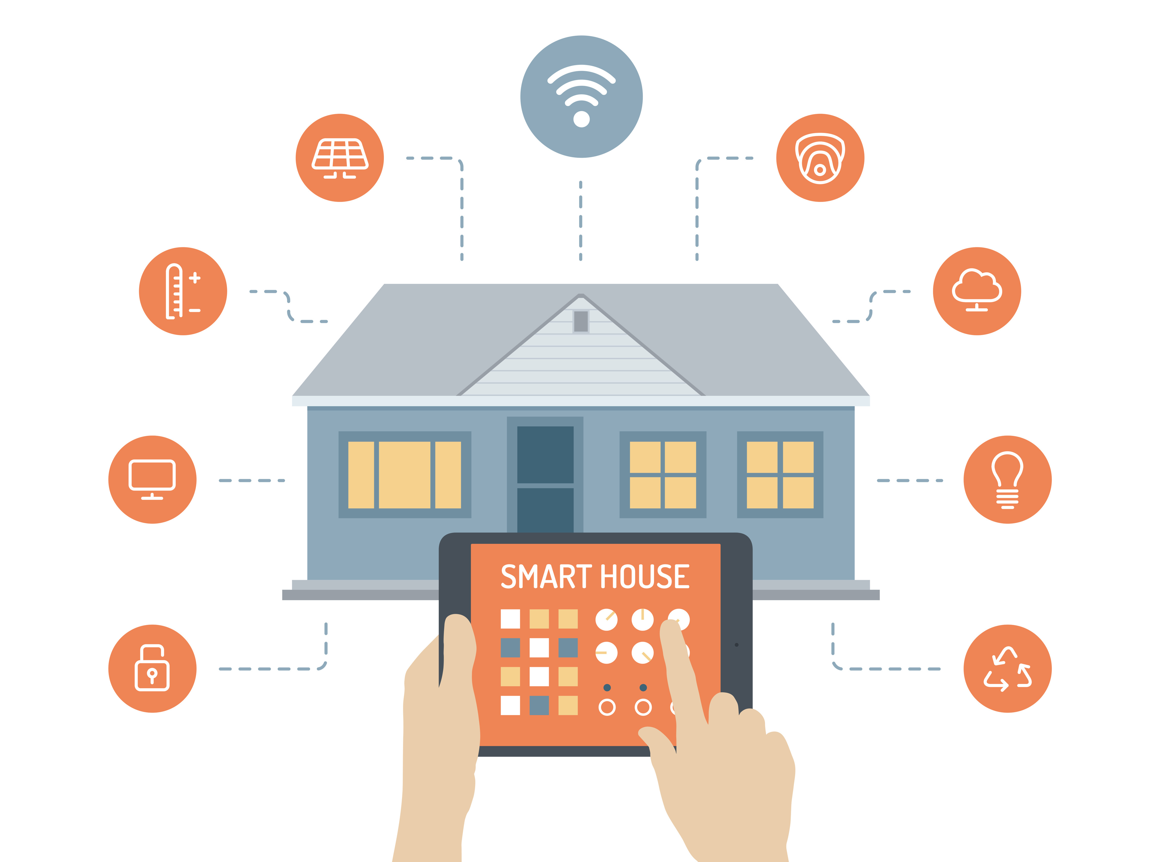 House for sale smart home system 9