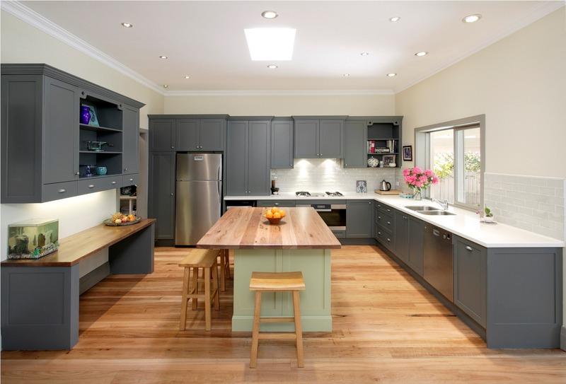 Sharp luxury modern kitchens large