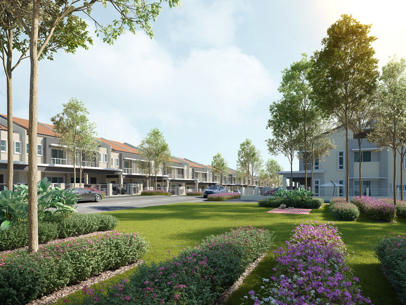 Ixora residences manicured park large