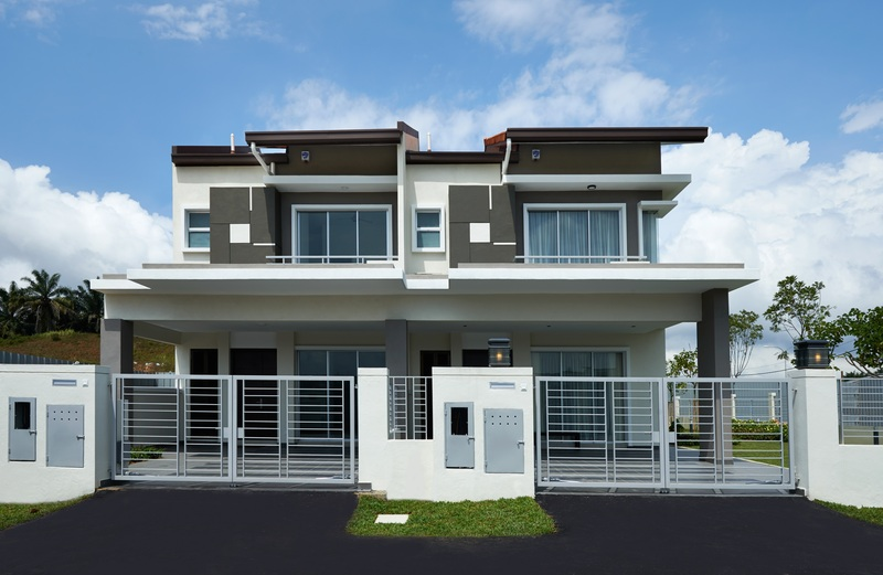 Ixora residences actual facade large