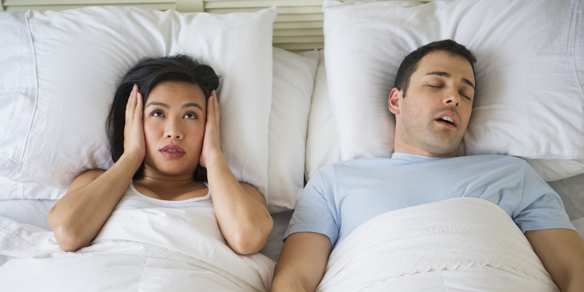 Pet peeves of newly weds living together snore annoyed