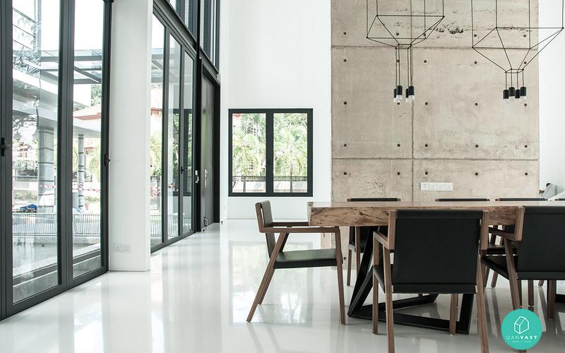 Core design workshop project polo  shah alam  dining panels truncate