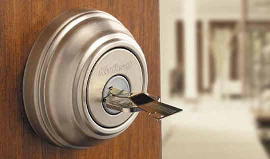 Front door lock large