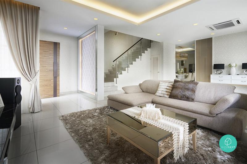 reka bentuk hiasan dalaman teres home interior design services Sentuhan gaya industri ini memberikan keselesaan dimana reka bentuk retro  diketengahkan di bahagian ruang tamu, rekaan batu-bata di ...