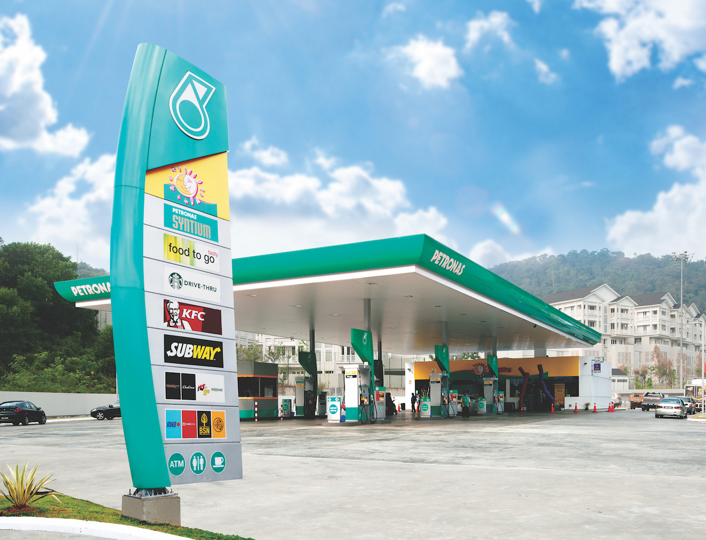 Reasons to rent petronas retail spaces station