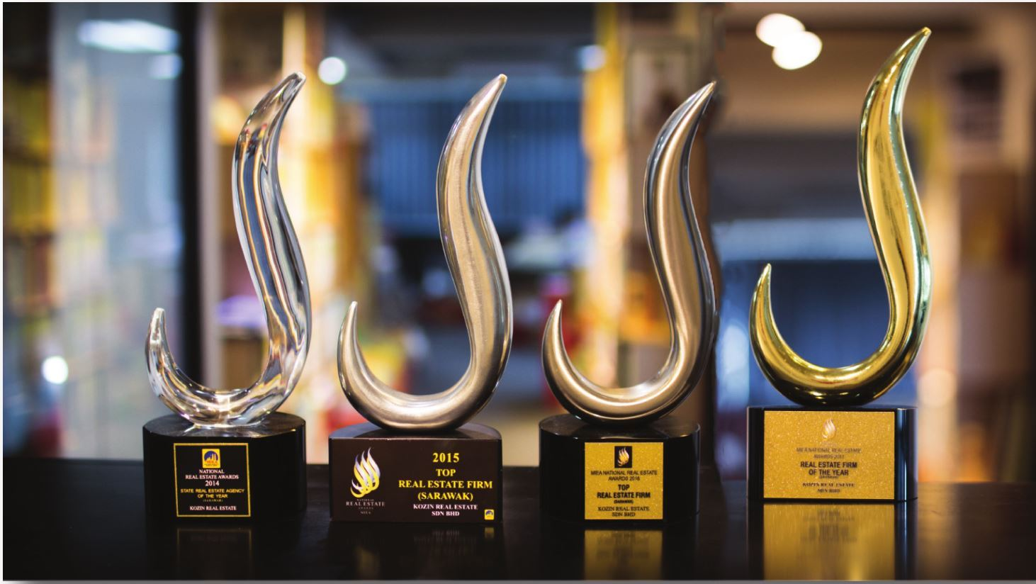 Miea national real estate awards trophy propsocial