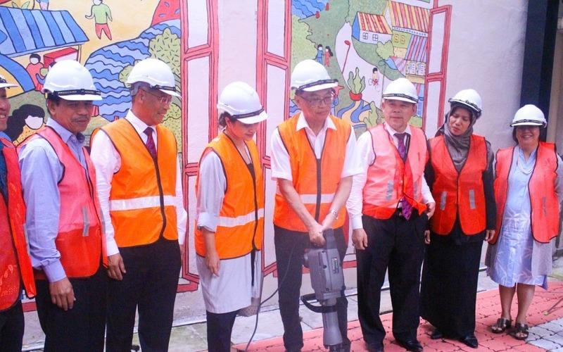 Dbkl think city laneway improvement programme groundbreaking propsocial truncate