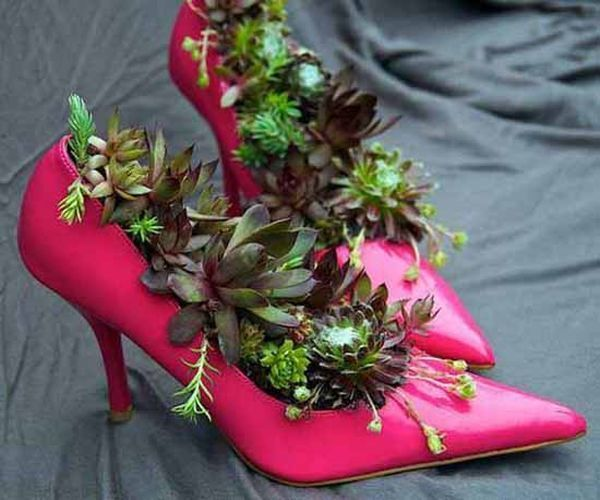 Repurpose old shoes 3 large