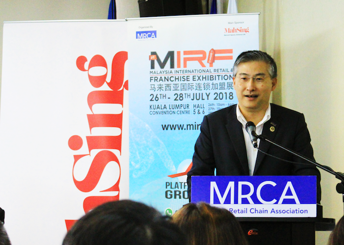 Malaysia retail and franchise exhibition mirf raymond woo propsocial truncate