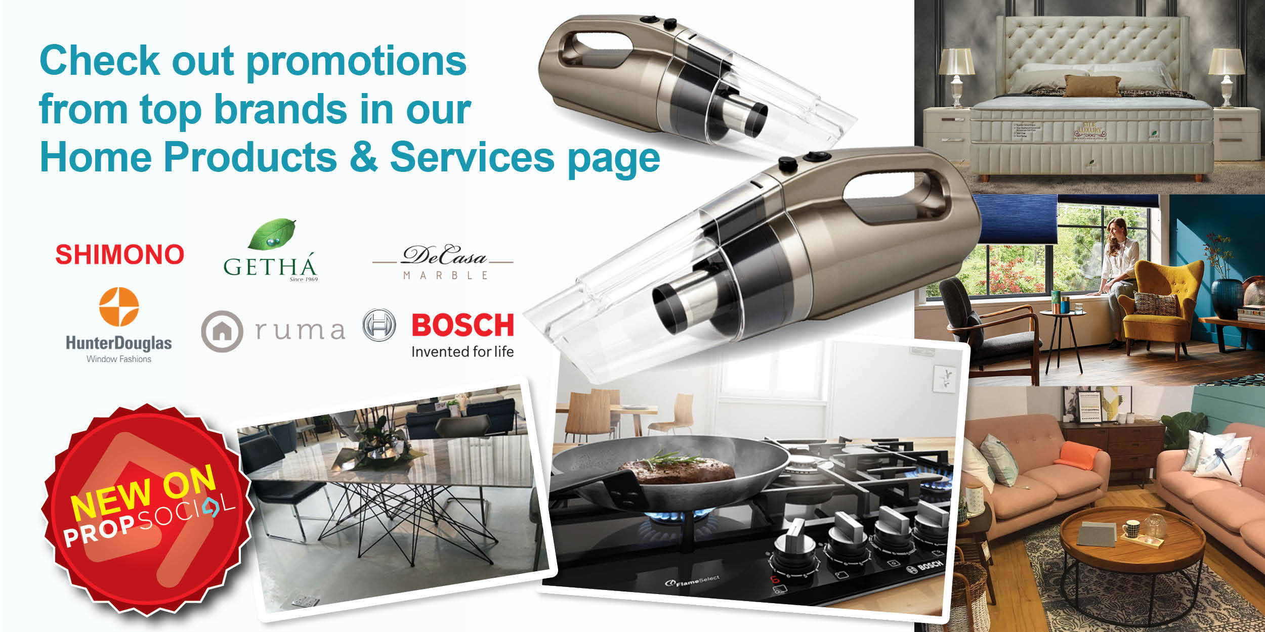 Propsocial home products and services