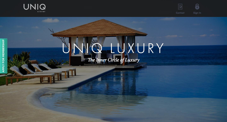 Uniq luxury experiences