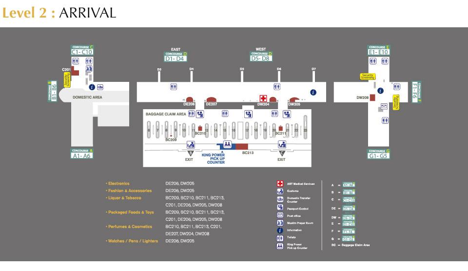 suvarnabhumi airport map pdf King Power Suvarnabhumi Airport King Power Official suvarnabhumi airport map pdf