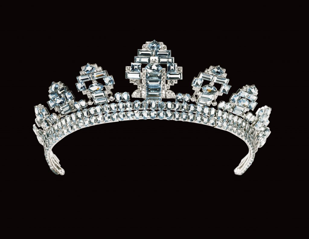 Tiara created by Cartier London 1937