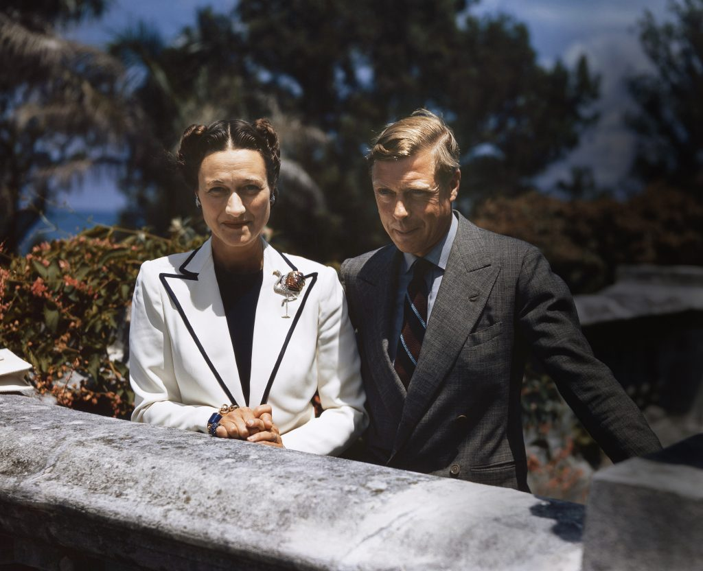 Duke Edward VIII and Duchess Wallis Simpson