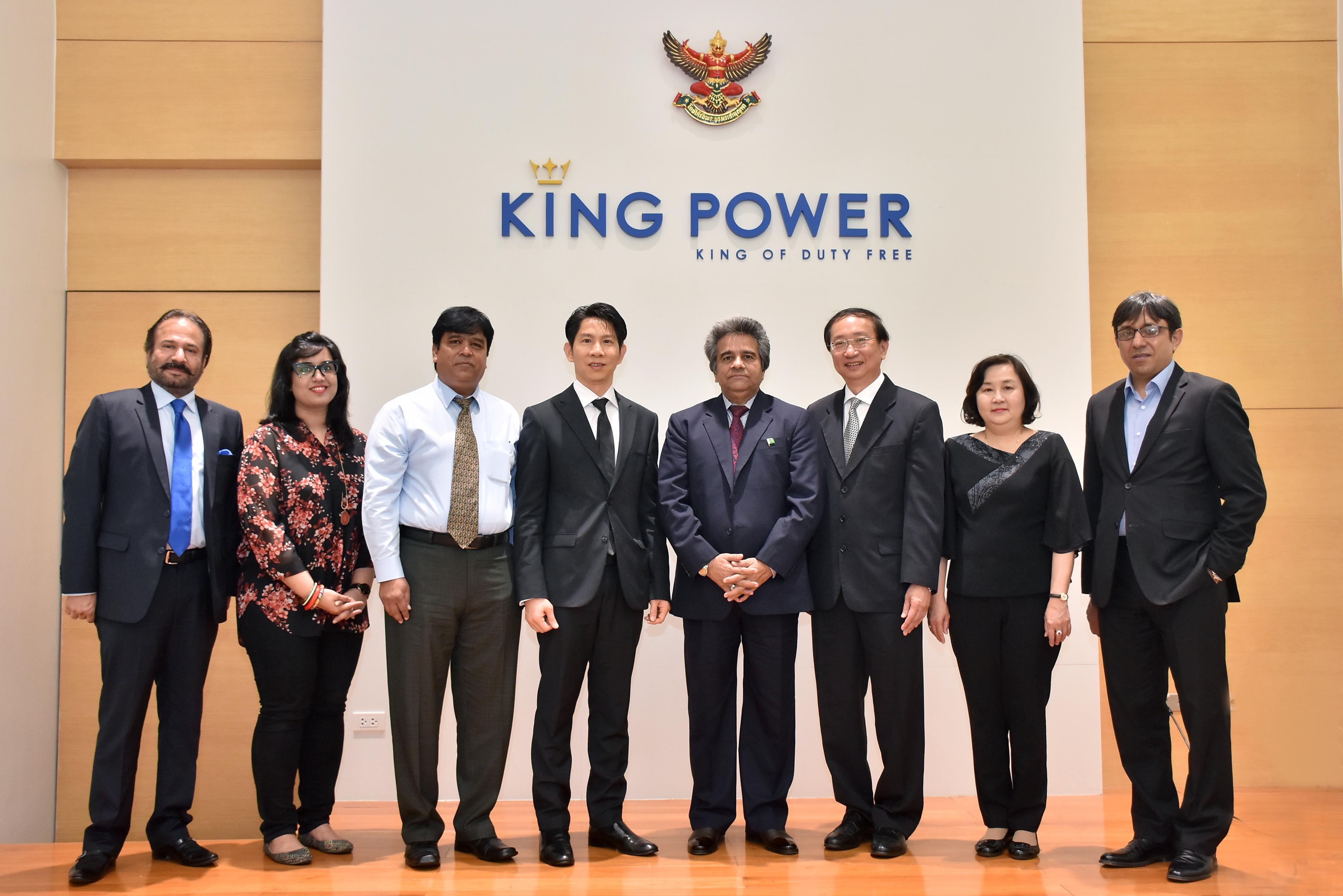 เอกอัครราชทูตไทยประจำปากีสถานนำคณะเยี่ยมชมกิจการคิง เพาเวอร์