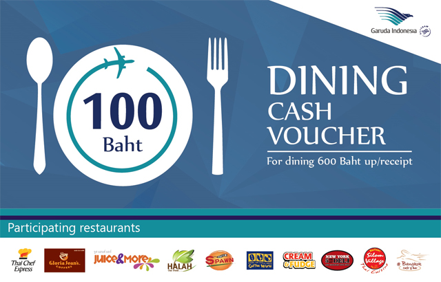 Dine & Fly with Garuda Indonesia Airlines