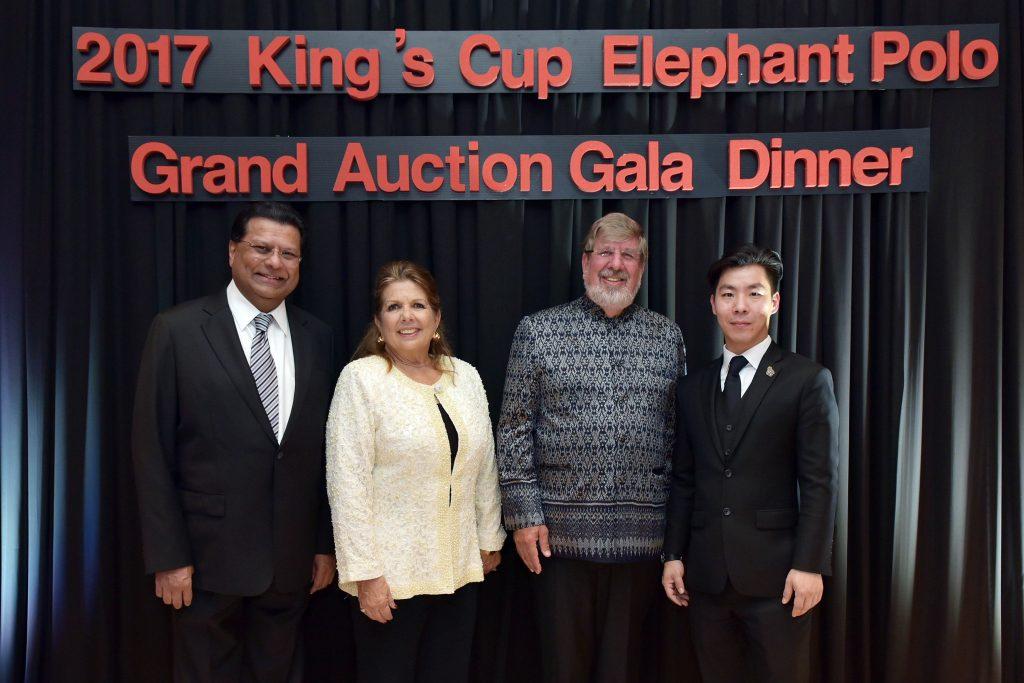 คิง เพาเวอร์ ร่วมงานกาล่าดินเนอร์การกุศล ระดมทุนช่วยเหลือช้างไทย
