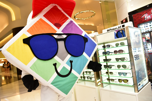In view of celebrating the 80th anniversary of Polaroid Eyewear