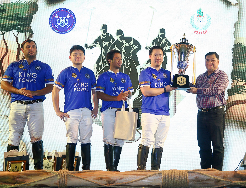 """ทีมคิง เพาเวอร์ คว้าแชมป์กีฬาขี่ม้าโปโลรายการ """"The Ambassador Cup 2018"""""""