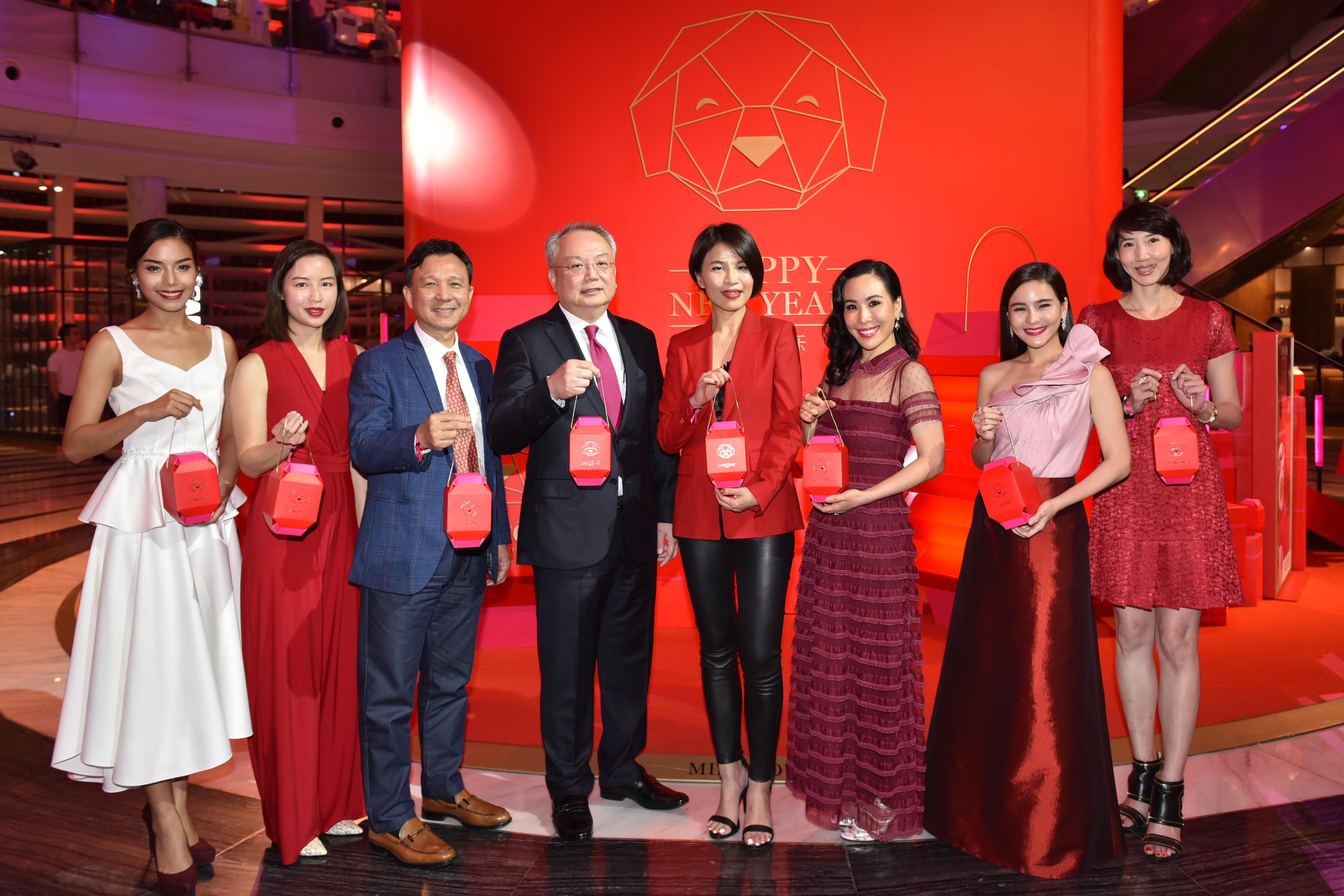 เปิดตัว Pop-up Store ของแบรนด์ลังโคมที่ คิง เพาเวอร์ รางน้ำ ต้อนรับเทศกาลตรุษจีน