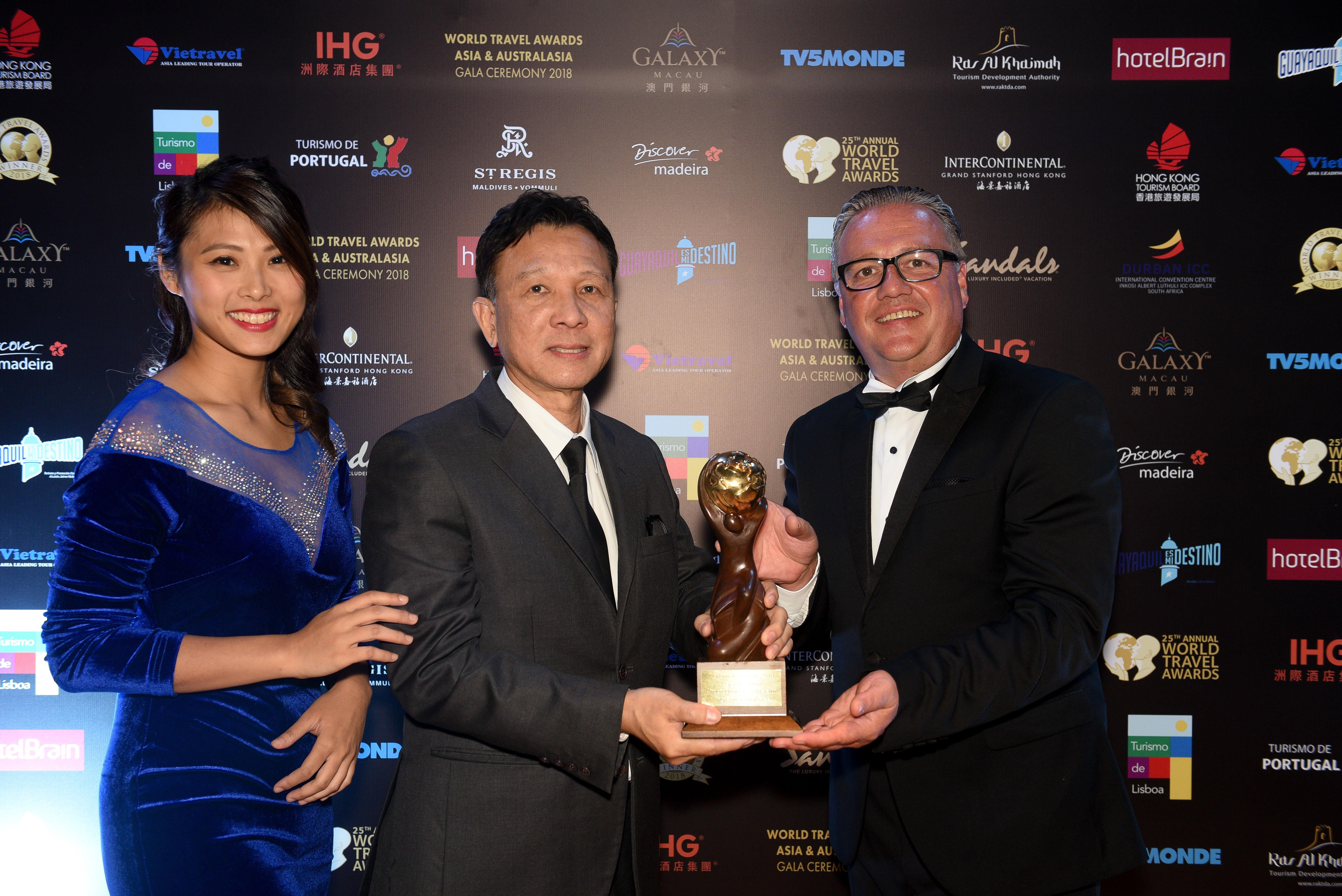 คิง เพาเวอร์ คว้ารางวัล World Travel Awards 2018