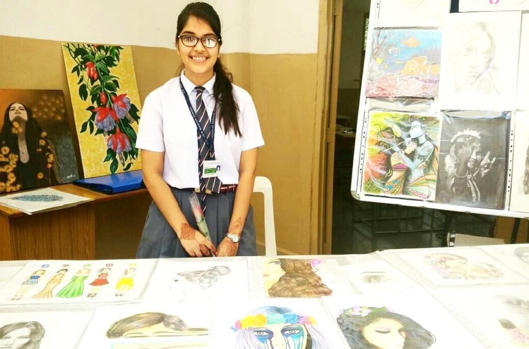 Mansi Yaduka artist fine art paintings