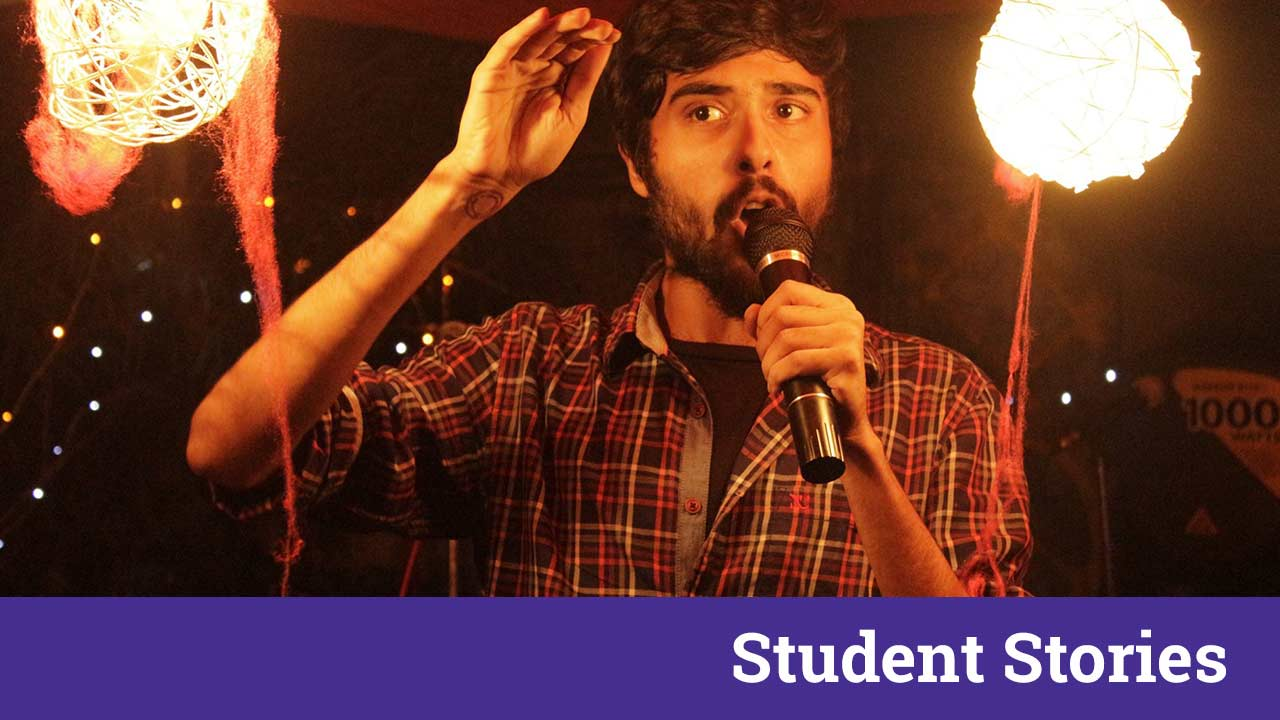 rivu ganguly interview kalkutta comedian student stories interview