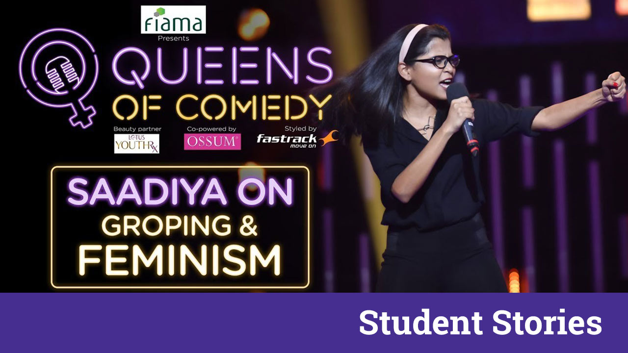 saadiya ali queen of comedy comedian stand up comedy interview ss