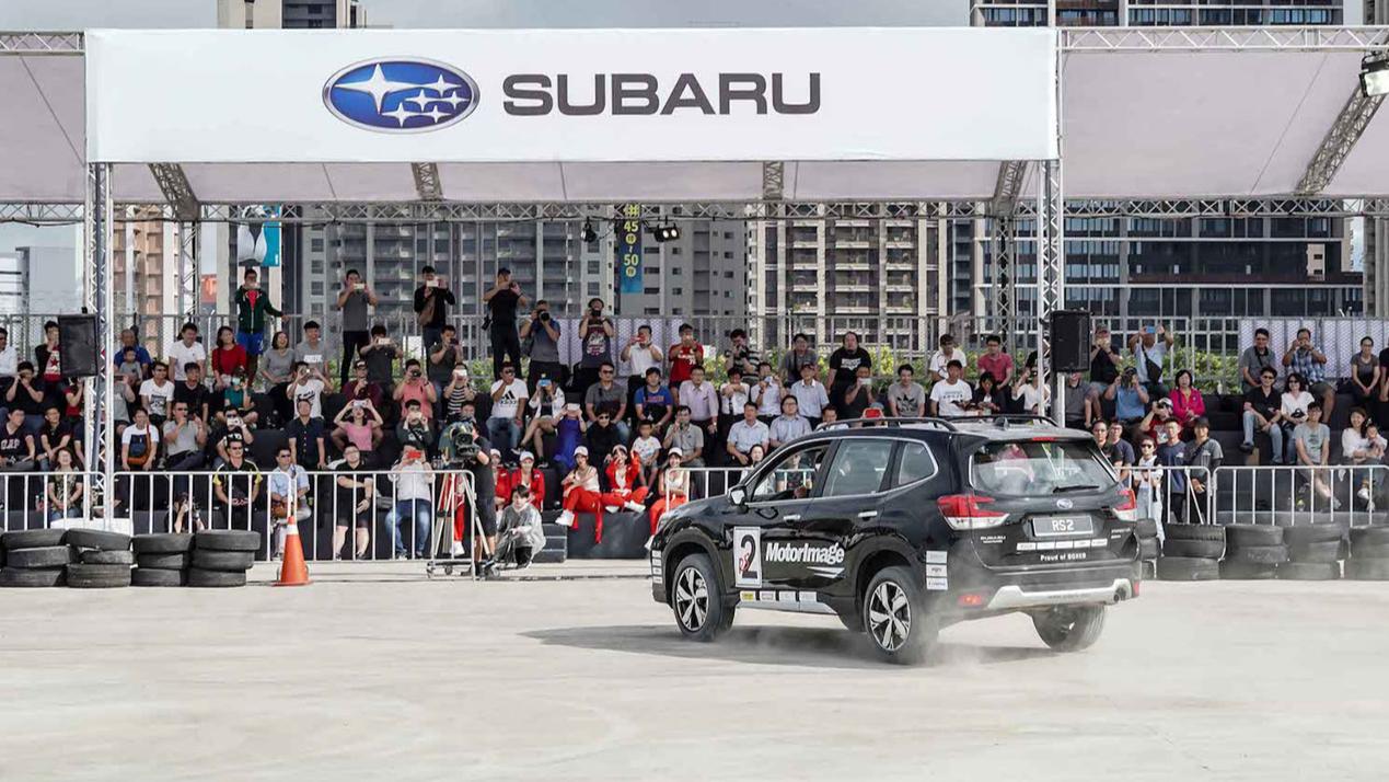 TIGP賽車國手選拔、極限飄移秀、品牌核心科技試駕