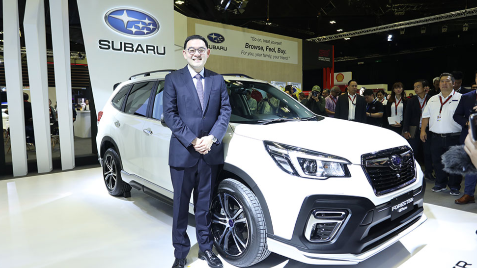 Subaru brings innovation and excitement to the Singapore Motorshow 2020