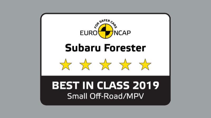 ''ซูบารุ ฟอเรสเตอร์' คว้ารางวัล มาตรฐานความปลอดภัย 5 ดาวด้วยคะแนนรวมสูงสุดในกลุ่ม โดย EURO NCAP