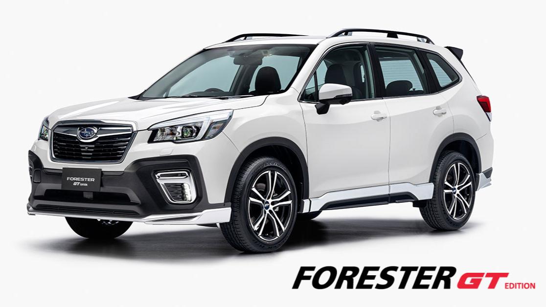 Bộ Phụ kiện Đặc biệt GT Edition dành riêng cho Subaru Forester  chính thức ra mắt tại Việt Nam