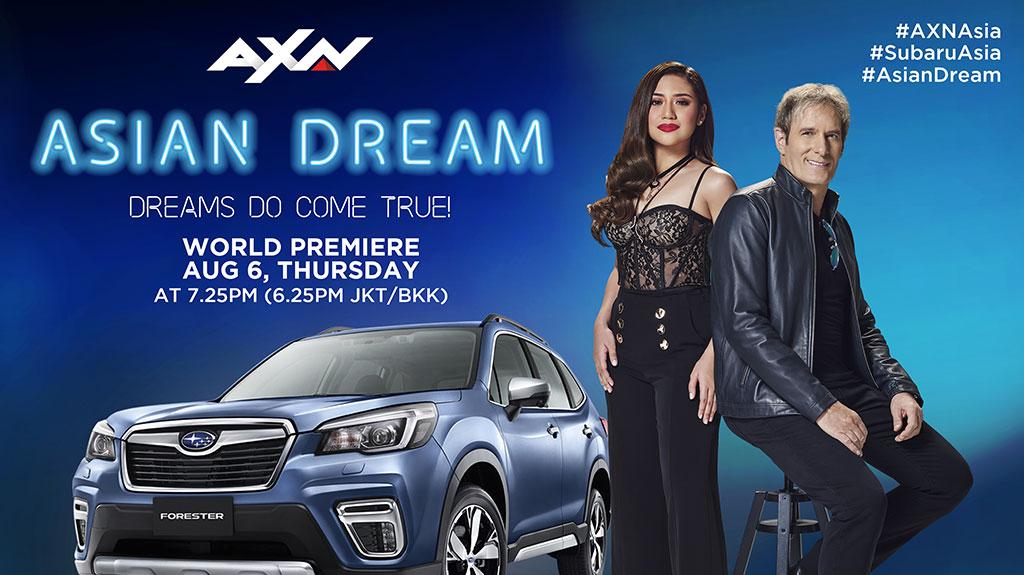 「Asian Dream 亞洲之星 夢想啟航」 在AXN頻道與音樂傳奇MICHAEL BOLTON 一起尋找明日之星!