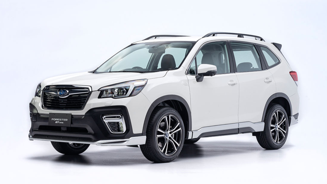 New Subaru Forester GT Edition Showcased in Singapore