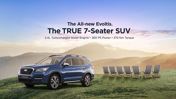 Subaru's True 7-Seater Has Arrived