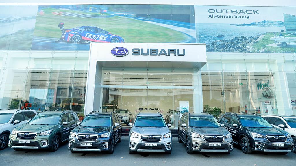Subaru Việt Nam công bố Chương trình ưu đãi đặc biệt   Hỗ trợ 100% Lệ phí Trước bạ cùng các ưu đãi hấp dẫn khác!