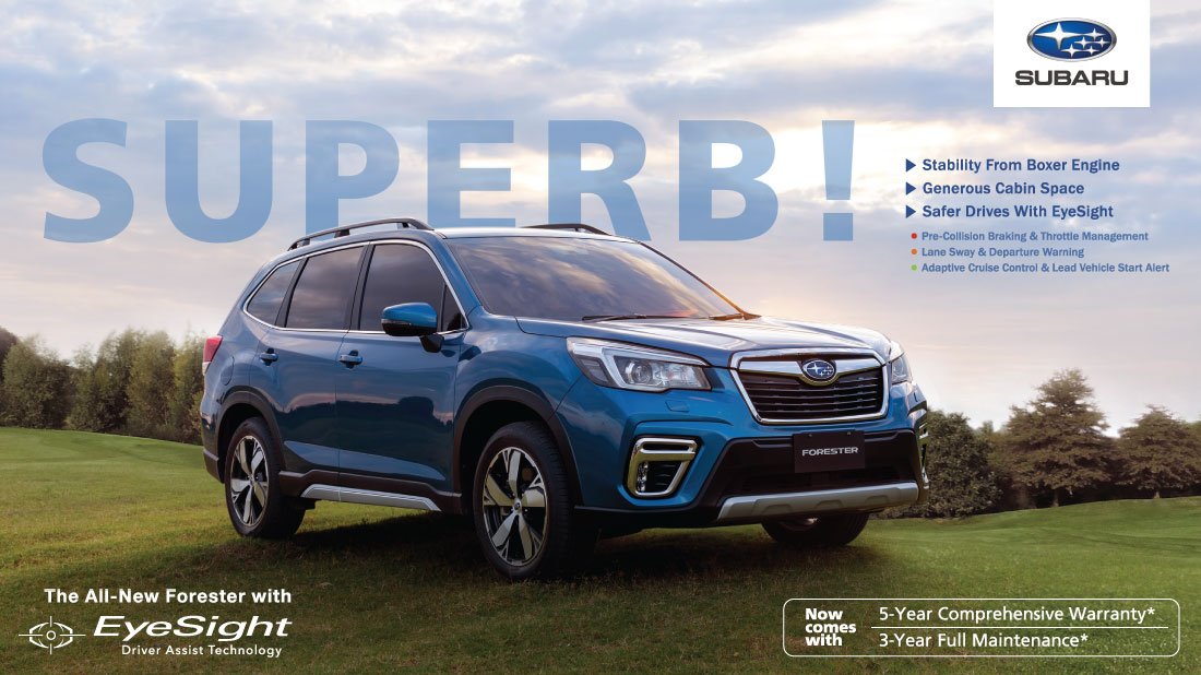 The Media loves the all-new Subaru Forester!