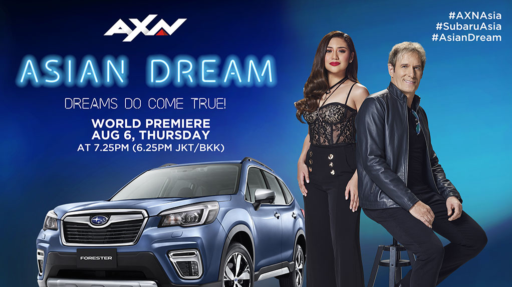 ASIAN DREAM SEEKS THE NEXT RISING STAR WITH MUSIC LEGEND MICHAEL BOLTON ON AXN