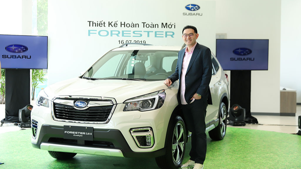 Motor Image Launches All-New Subaru Forester in Vietnam and Unveils New Facilities in Ho Chi Minh City