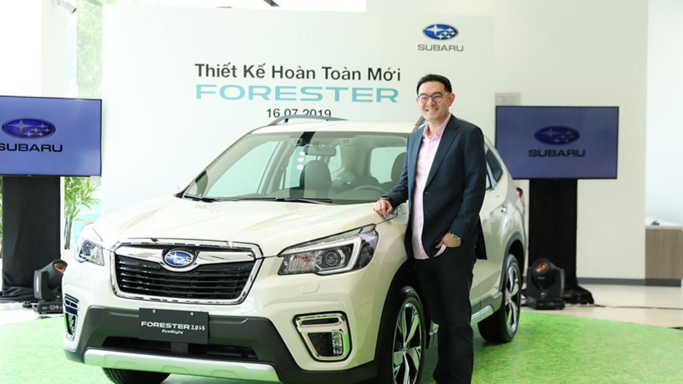Motor Image Ra Mắt Xe Subaru Forester Hoàn Toàn Mới Tại Việt Nam Và Giới Thiệu Showroom Mới Tại Thành Phố Hồ Chí Minh